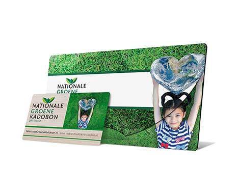 Nationale Groene cadeaubon