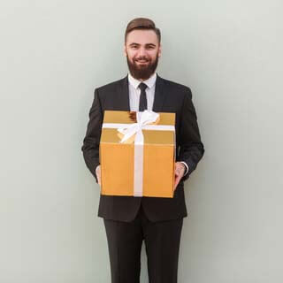 giftbox man