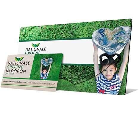 groen cadeaubon