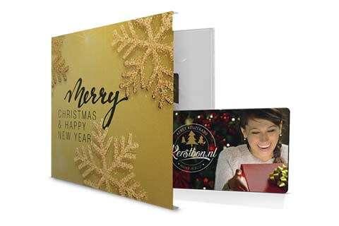 kerstbon cadeaubon