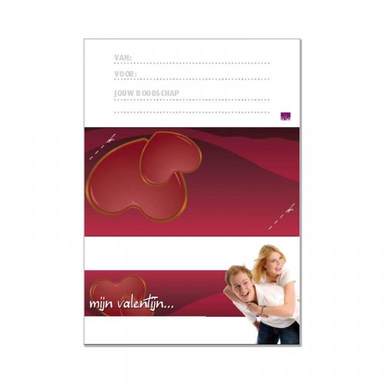 printbare envelop valentijnsdag